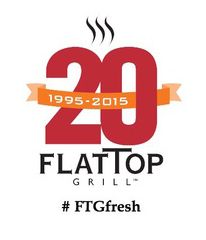 FTG_White 20th ANN logo w hashtag