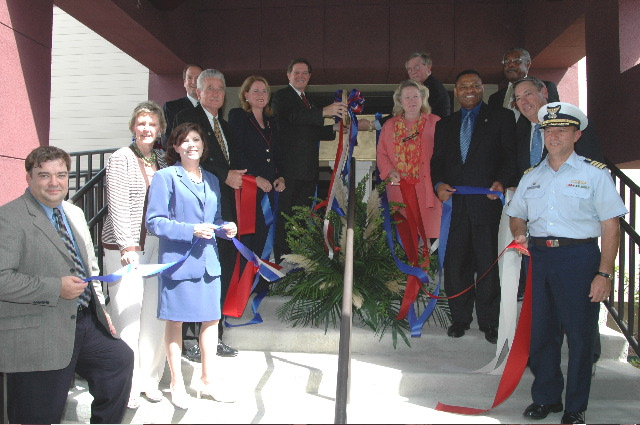 Grand opening of Houston's Port Coordination Center