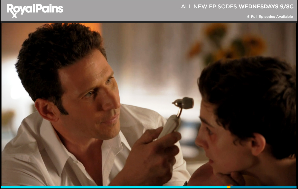 Exergen TemporalScanner in Royal Pains