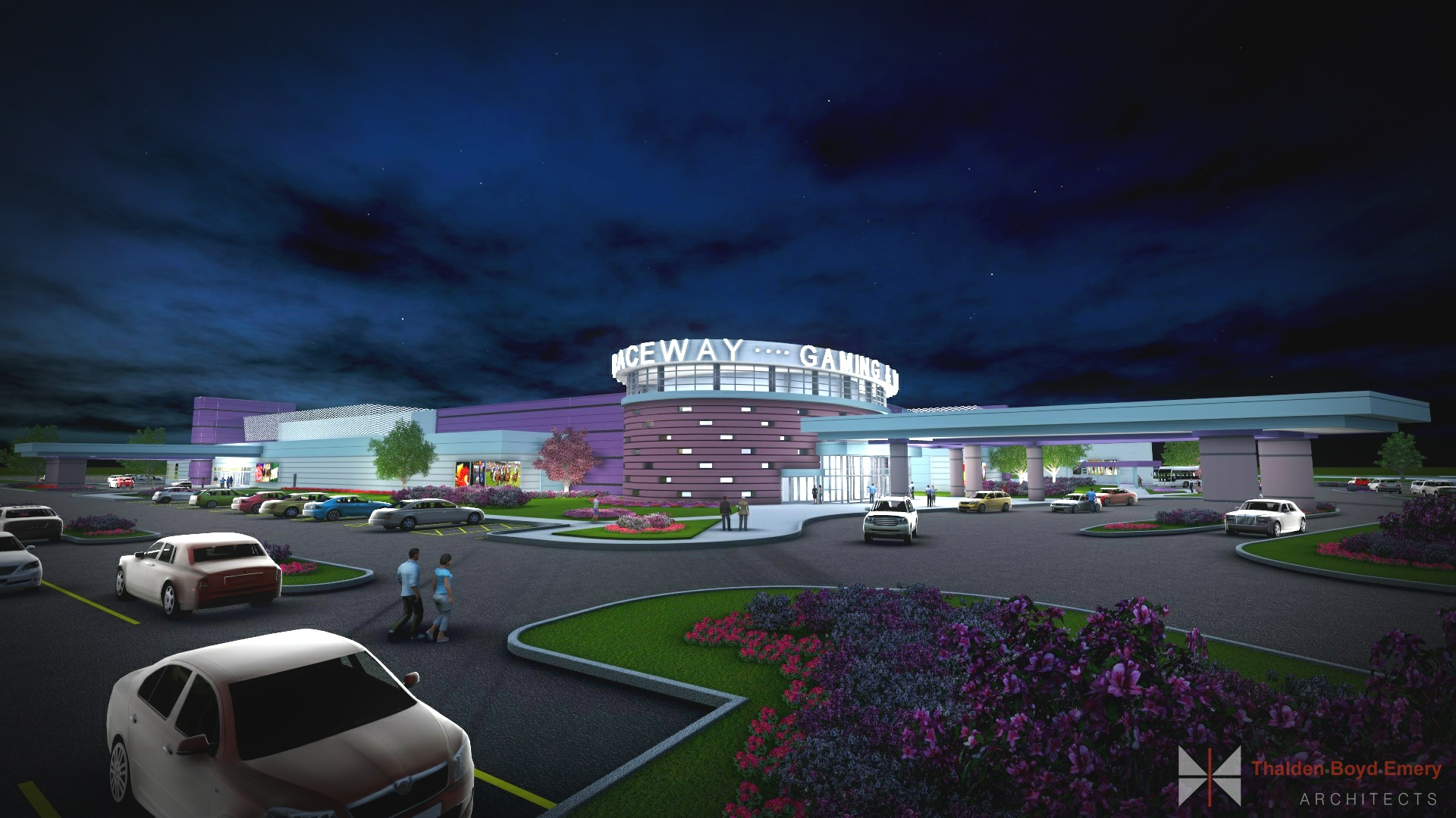 Miami Valley Gaming and Racing New Facility Rendering