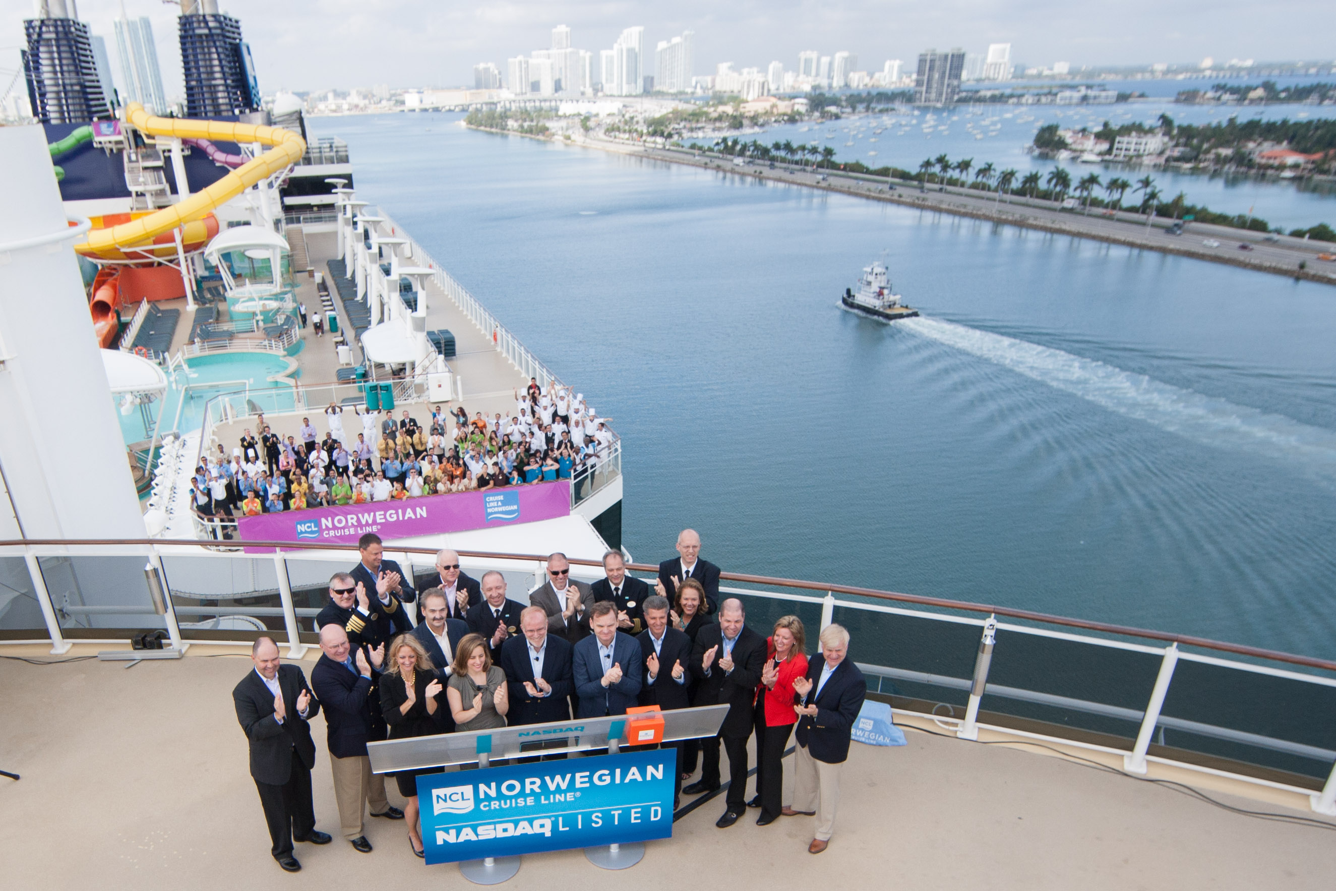Norwegian Cruise Line Bell Ceremony