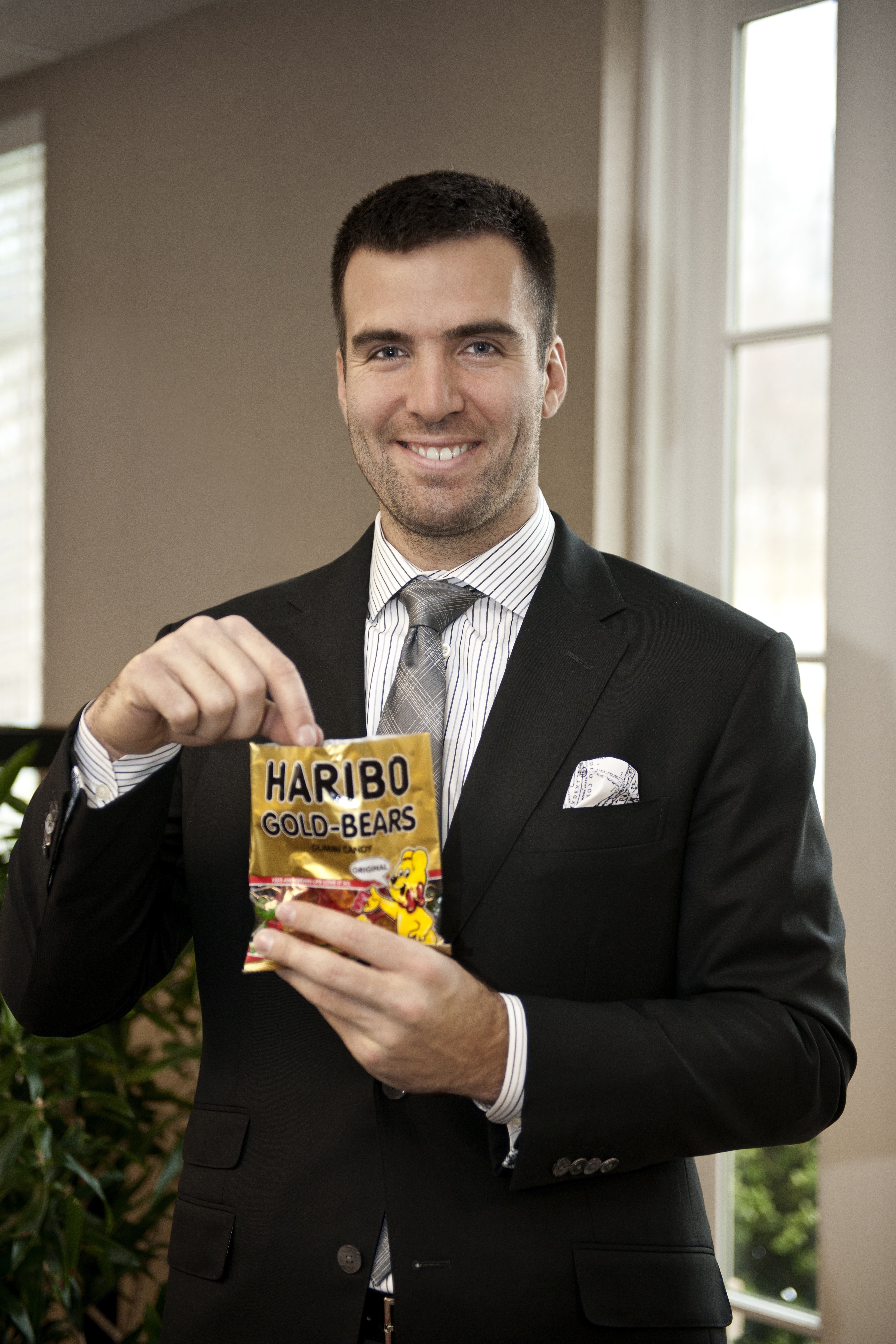 Flacco Satisfies his Sweet Tooth on the Way to NOLA