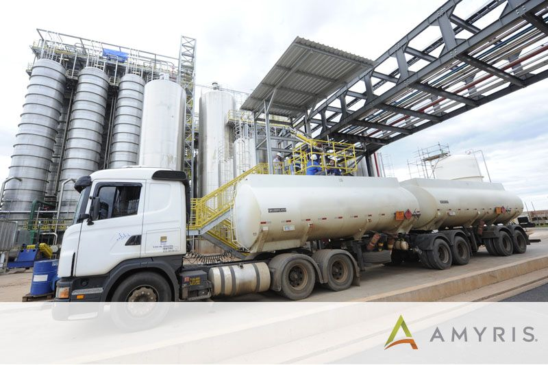 Amyris Ships First Truckload of Biofene From Its New Plant in Brazil