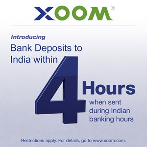 Photo Release -- Xoom Announces Money Transfer Service to