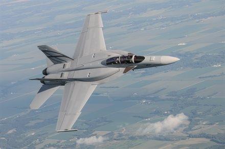 F 18 Advanced Super Hornet An FA-18 Advanced Super