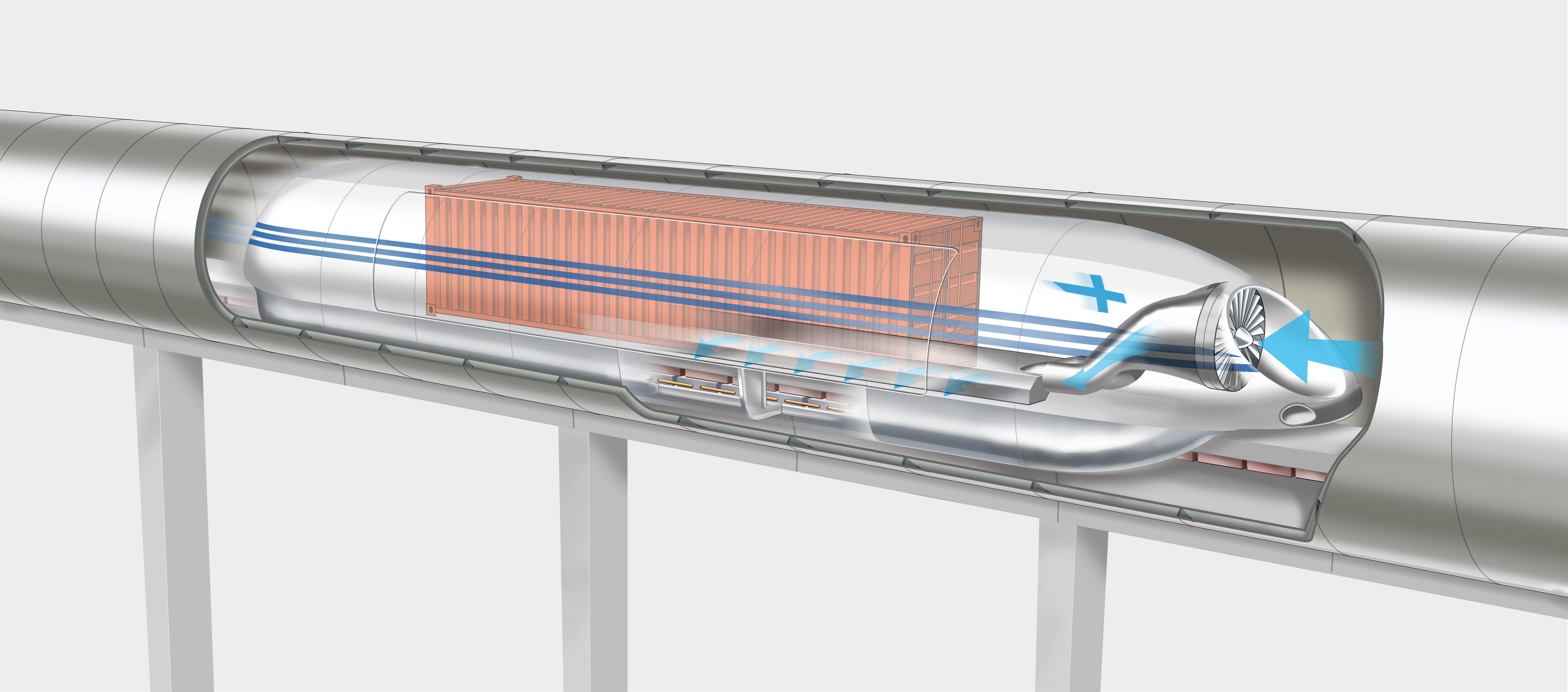 Print - Verkkokauppa.com ehdottaa huippunopean Hyperloop-radan rakentamista Helsingin, Turun ja ...