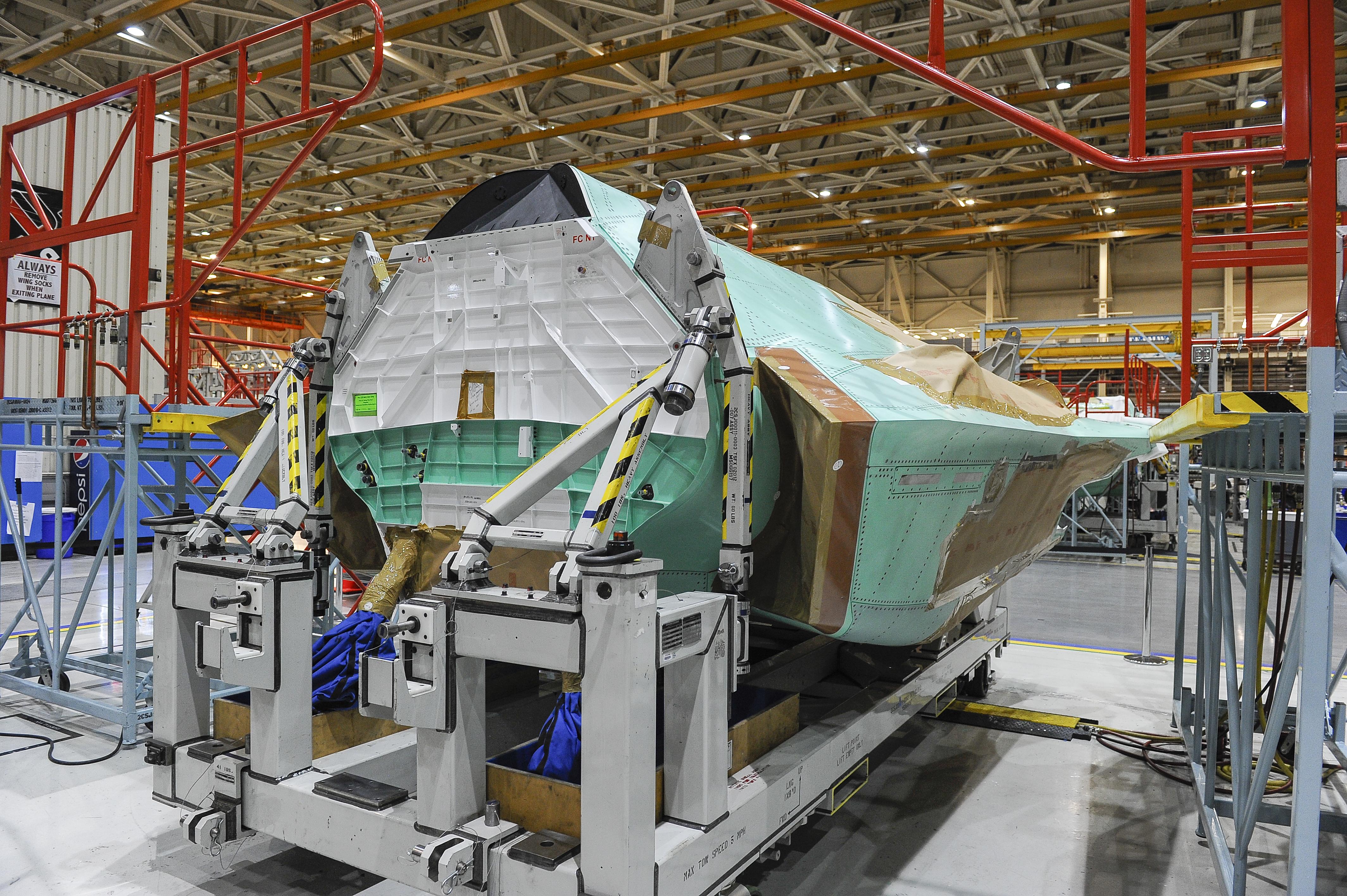 F-35 Lightning II, Fuselage
