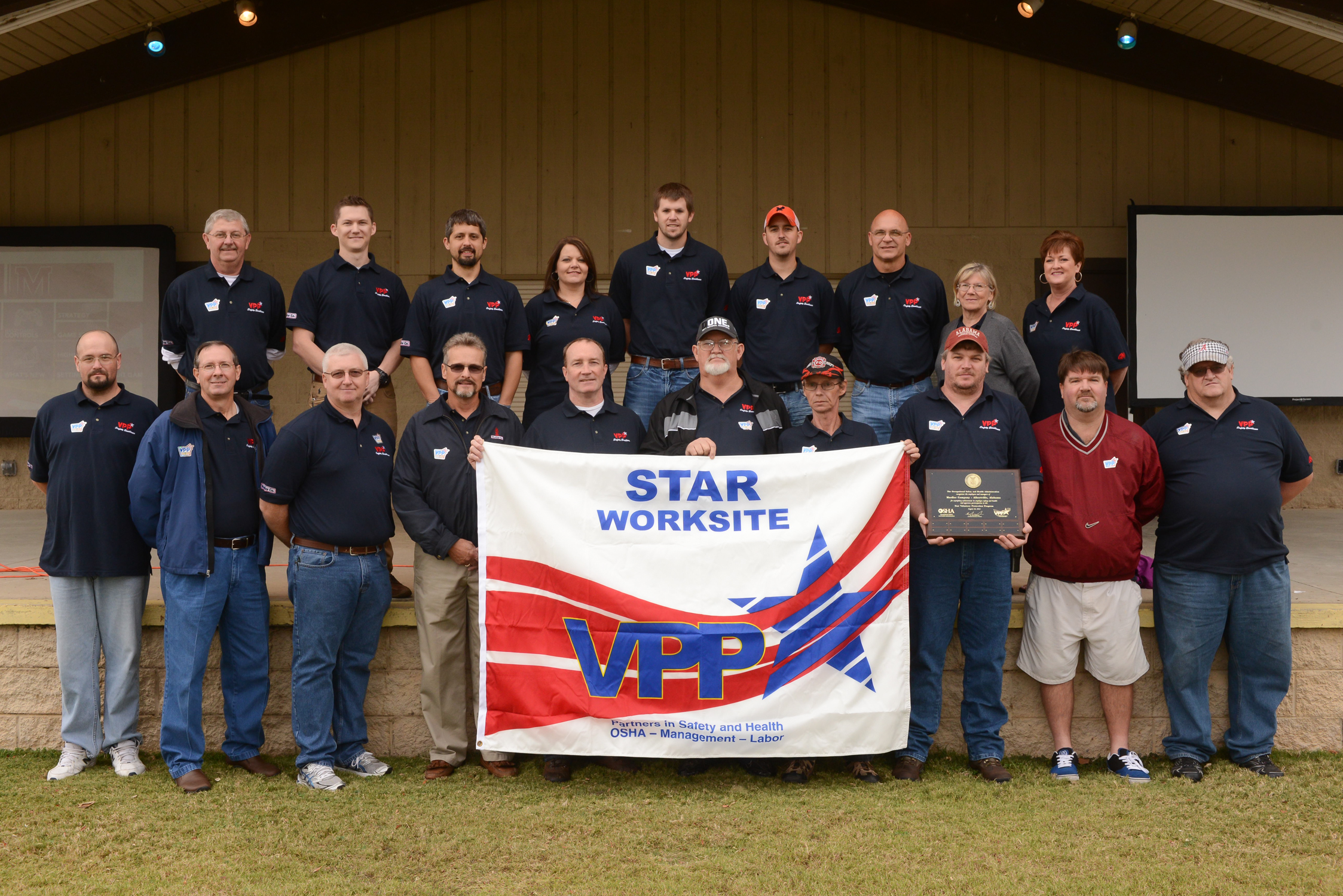 Mueller Water Products' Albertville, AL Plant Earns OSHA's Highest Safety Rating