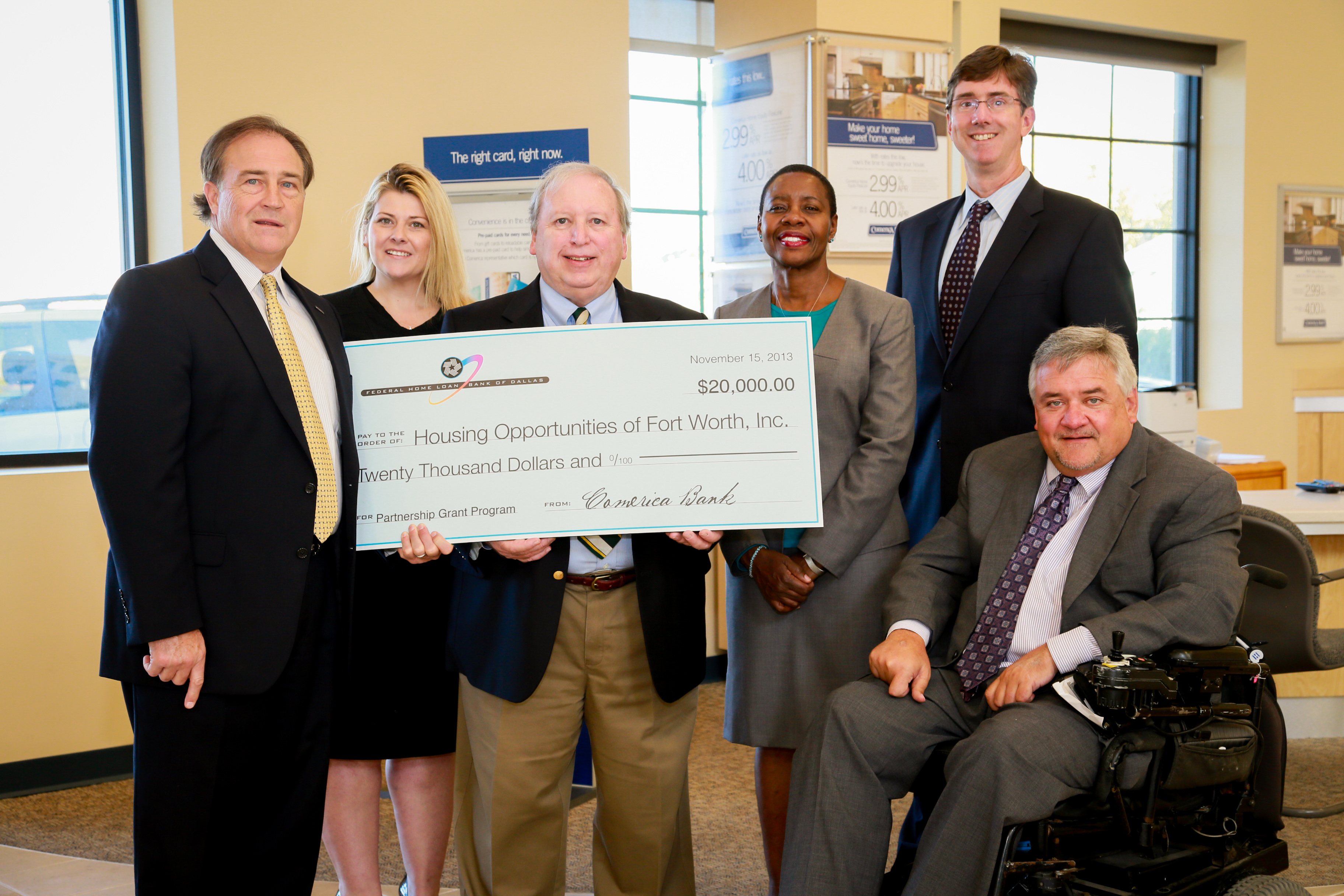 Partnership Grant Awarded to Fort Worth Organization
