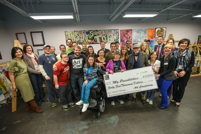 Art Con Presents Check to My Possibilities