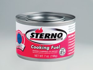 Food And Canned Cooking Fuel