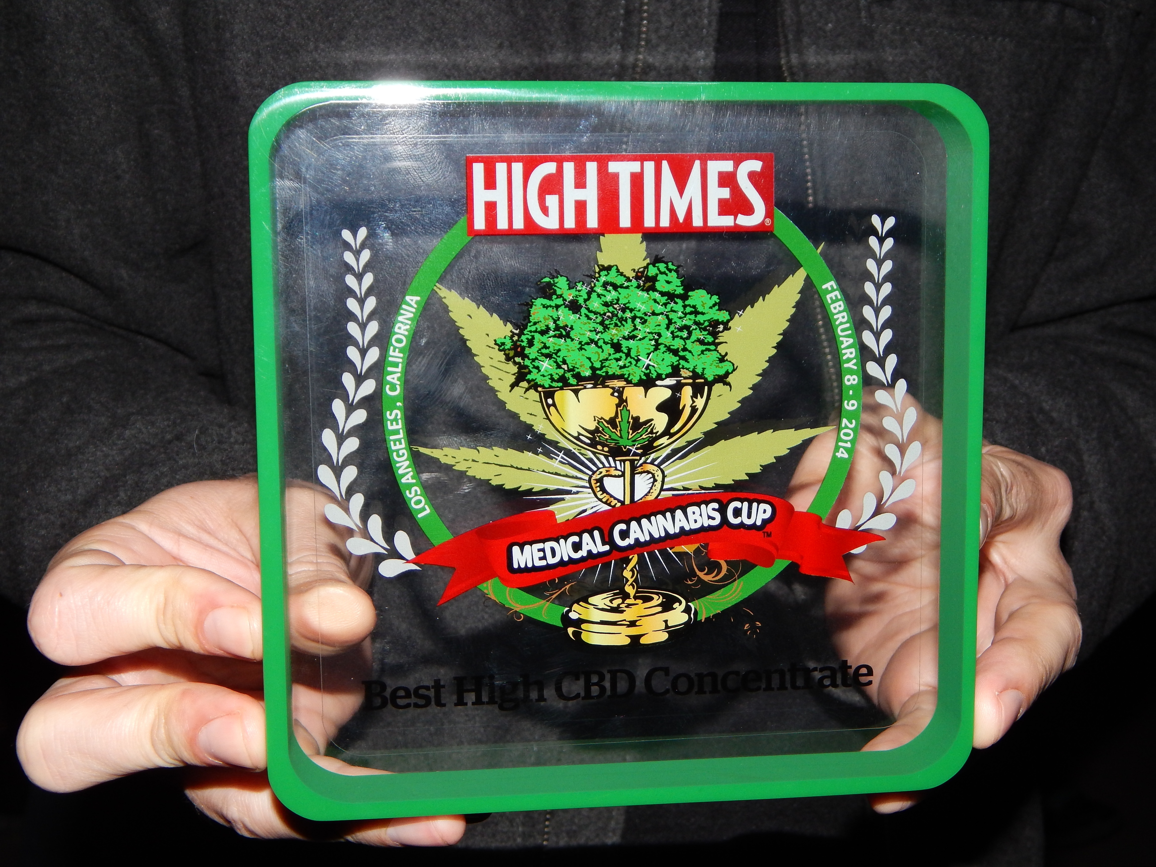 CBD Simple - 3rd Consecutive Cannabis Cup Award for High CBD Concentrate