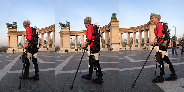 Walking with the 3D Printed Ekso-Suit