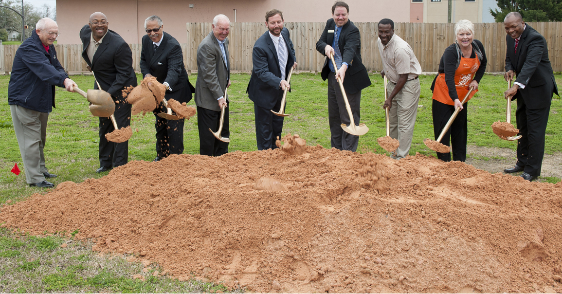 Officials Break Ground on Housing for Homeless Vets