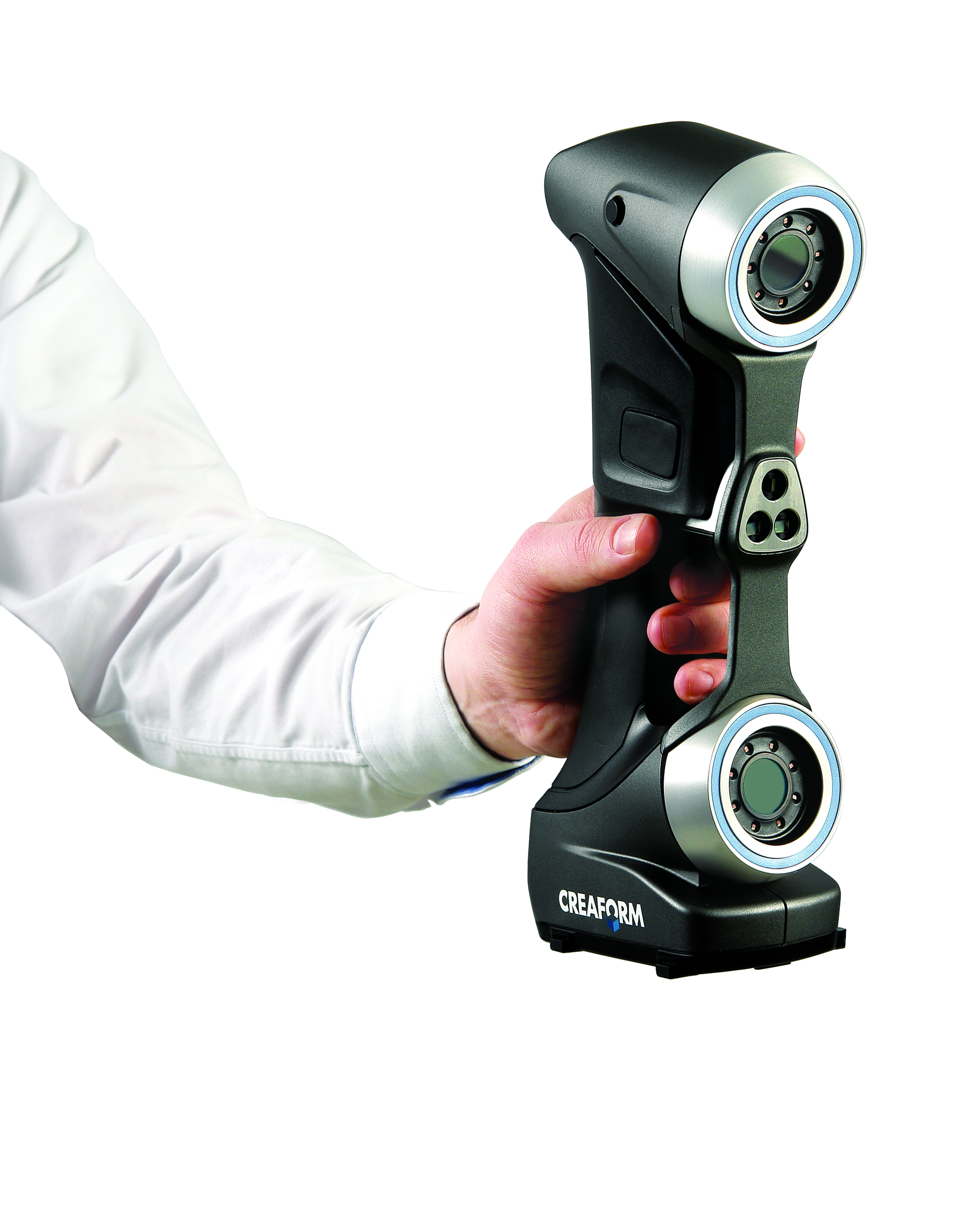 The next generation of HandySCAN 3D laser scanners, completely re-engineered for optimum speed, accuracy and portability.