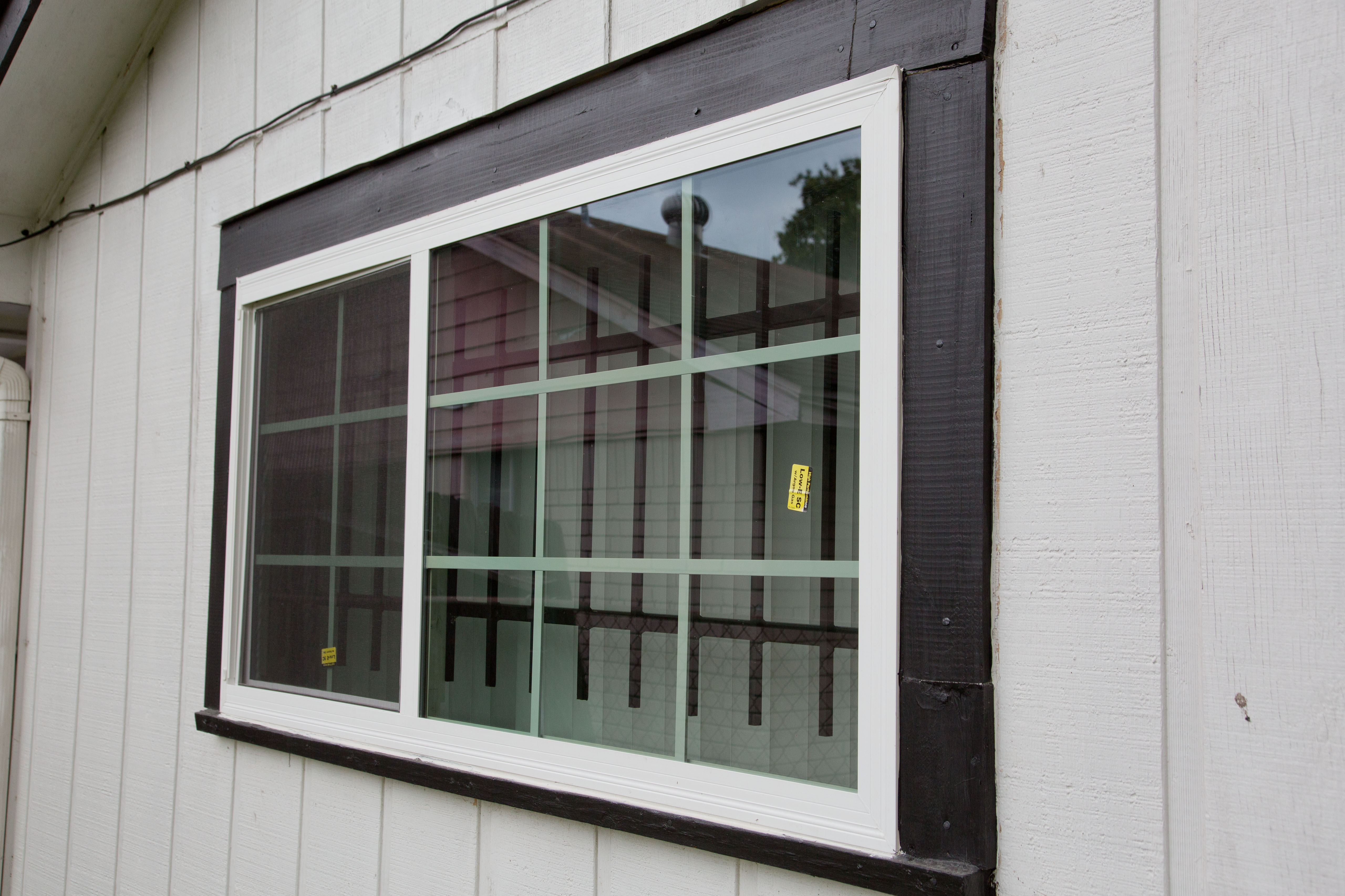 SNAP Grant Provides New Window and Electrical Panel
