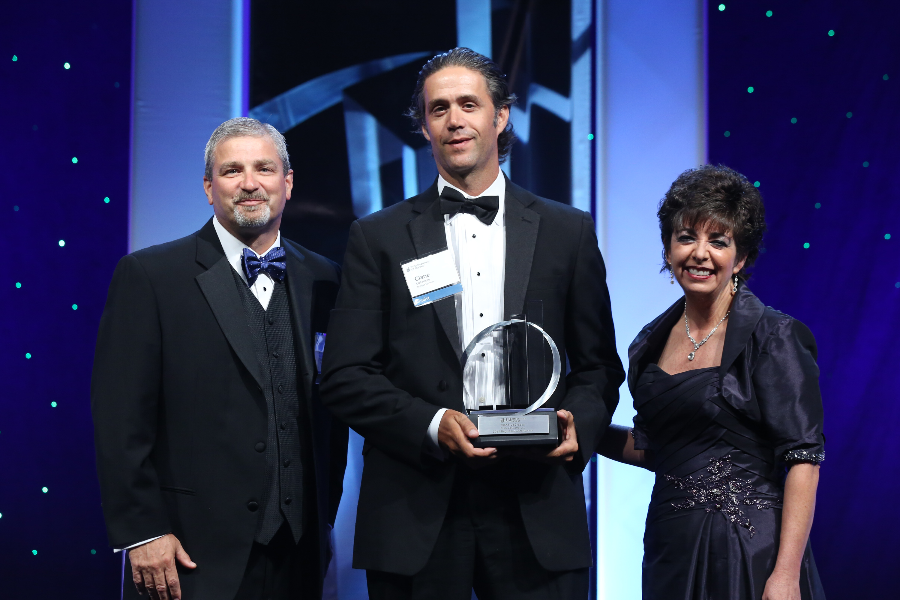 Clane LaCrosse, winner of the EY Entrepreneur Of The Year(tm) 2014 Southwest Region Cleantech Category