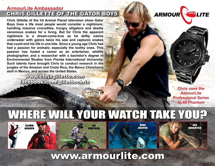 Chris Gillette ArmourLite 1