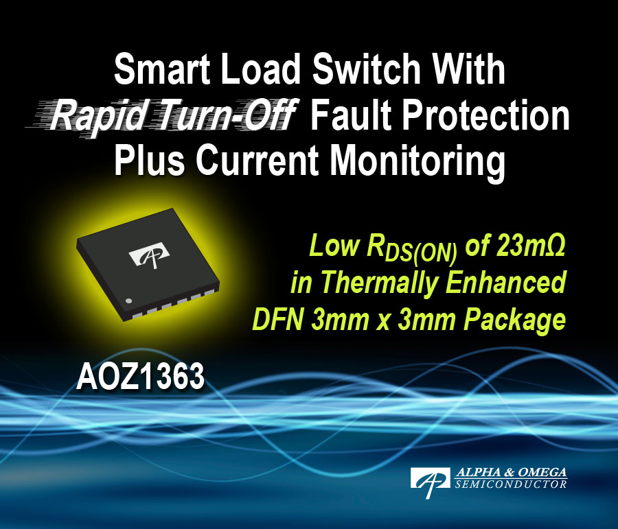 AOZ1363 - Enhancing the Smart Load Switch Portfolio