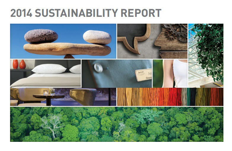 Marriott International 2014 Sustainability Report