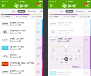 New mobile app for managing monthly bill payments