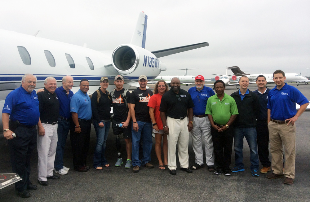 Window World of DC sponsors 70th Window World Veterans Airlift Command Mission