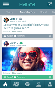 Virally popular HelloTel App updates on both Android and iOS