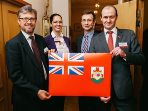 Bermuda Highlighted at VIP Event in Belarus