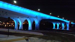 Colon Cancer Awareness Month Shines Blue Lights On The Country
