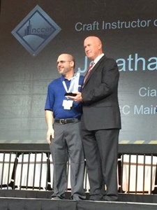 NCCER Awards the 2015 ABC Craft Instructor of the Year