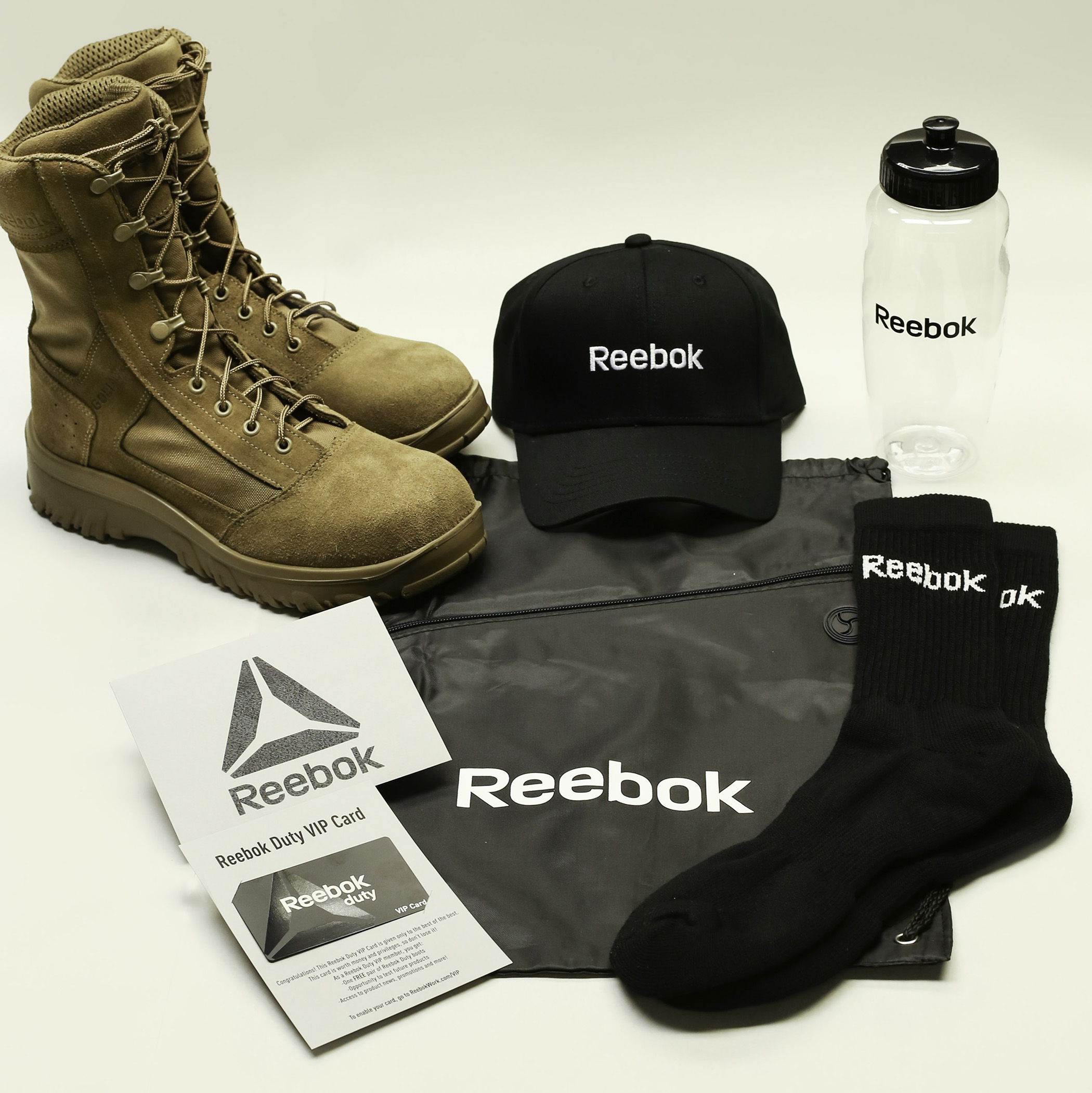 Reebok Provides High Performance Military Footwear to All