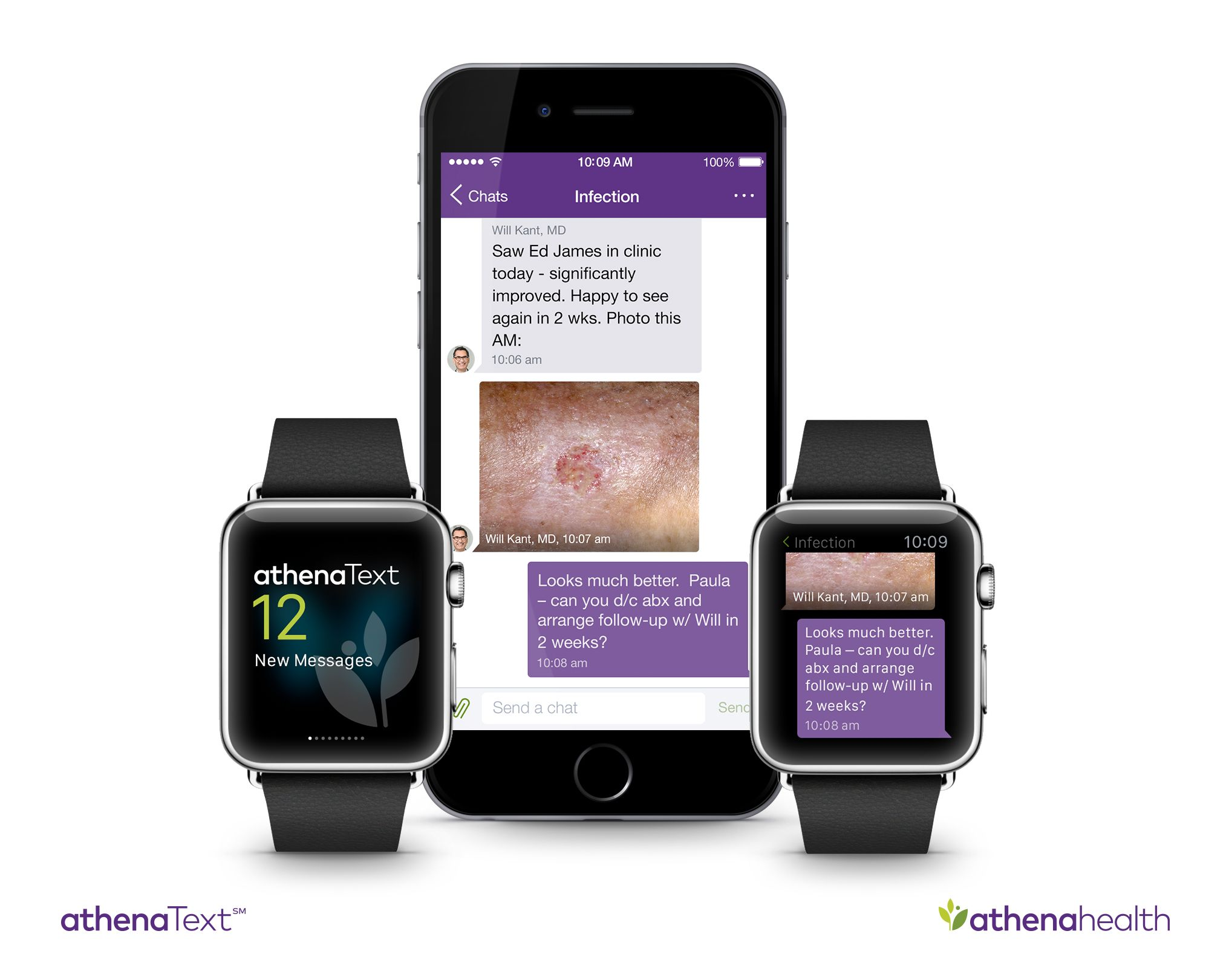 athenahealth Announces athenaText App for Apple Watch