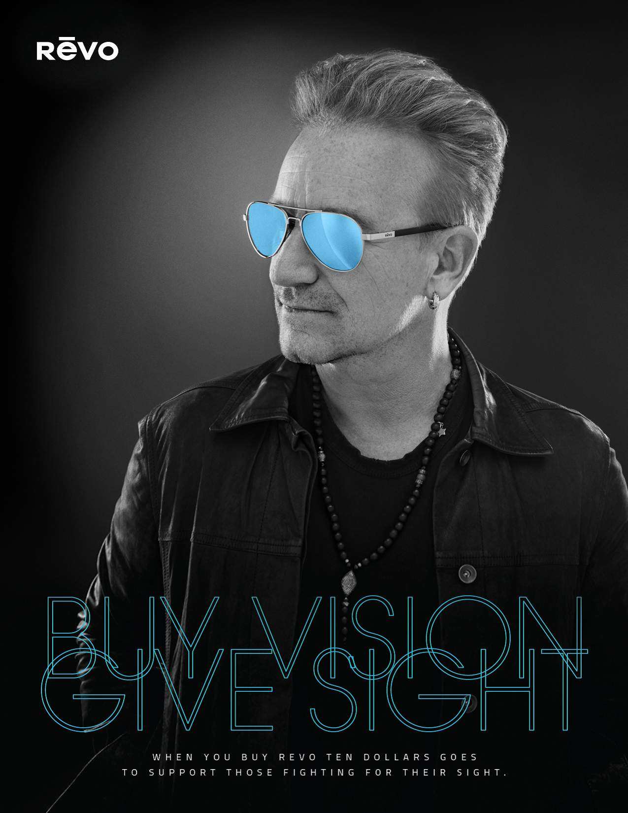 Bono for Buy Vision, Give Sight