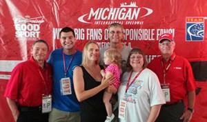 Responsible Fans Rewarded at Michigan International Speedway