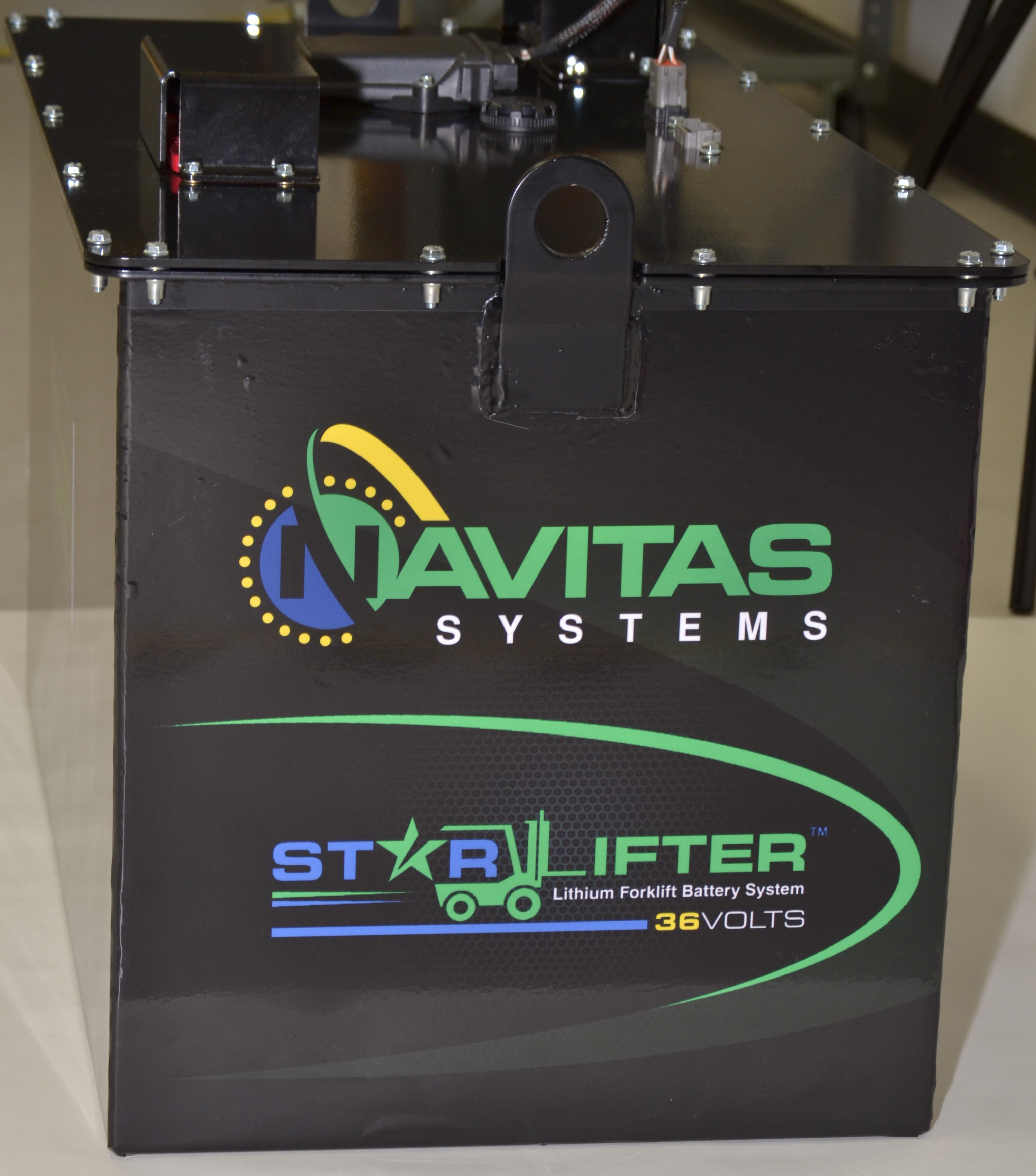 Navitas Systems Forges Unique Offering in Lithium-Ion Battery Development for Class 1 and Class 2 Forklift Trucks