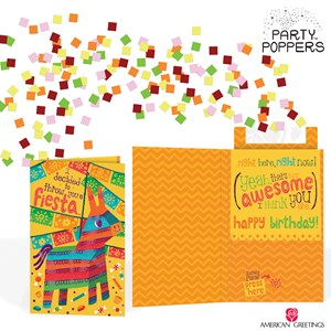 Send a party in a card with new party popperstm birthday cards send a party in a card with new party popperstm birthday cards from american greetings m4hsunfo