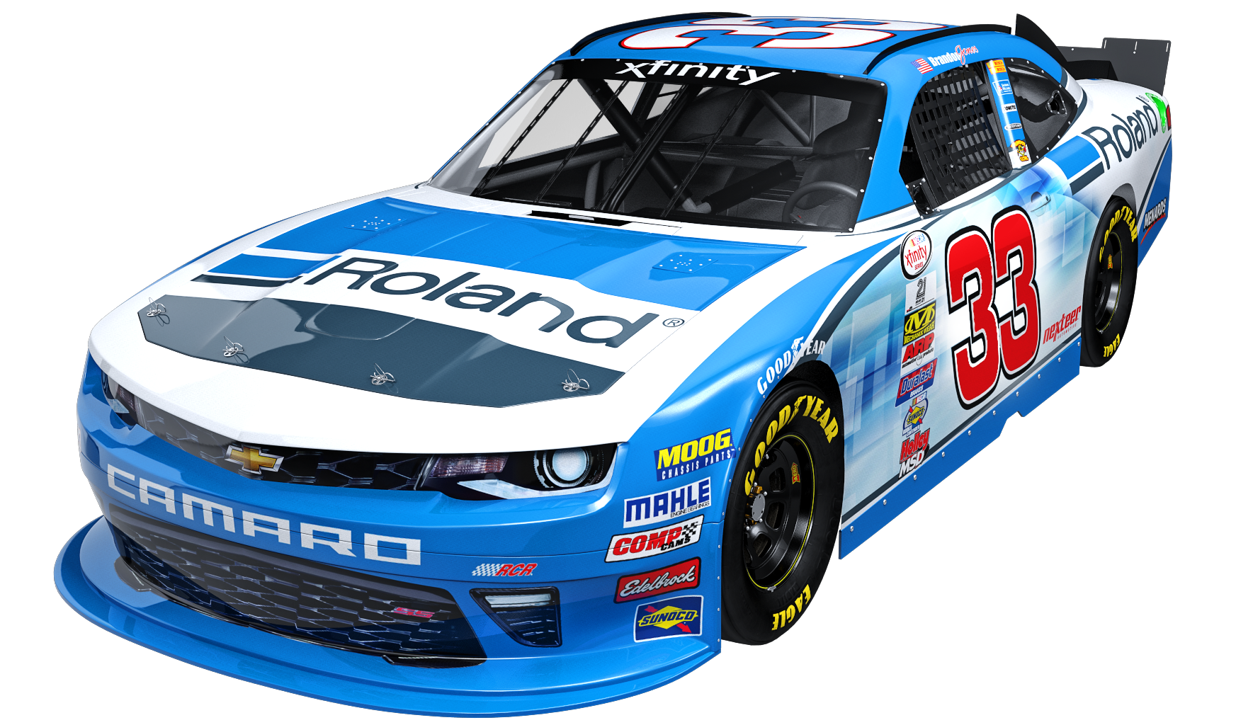Roland_RCR_vehicle_wrap_No_33_Chevrolet