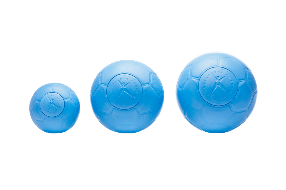 One World Play Project Debuts Limited Edition Size 1 One World Futbol