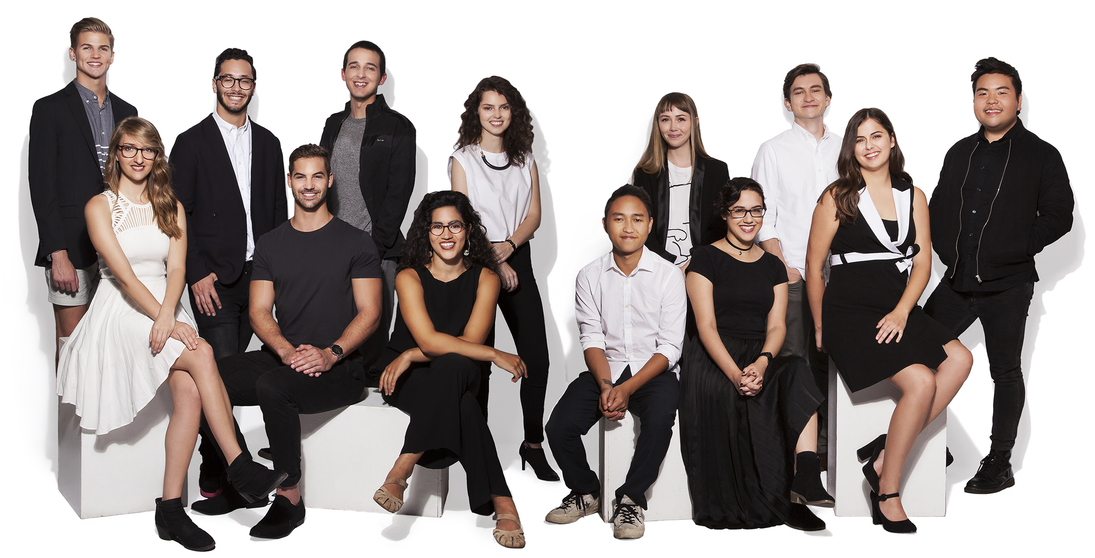 Ringling College 2016 Trustee Scholars Group Photo by Matthew Holler