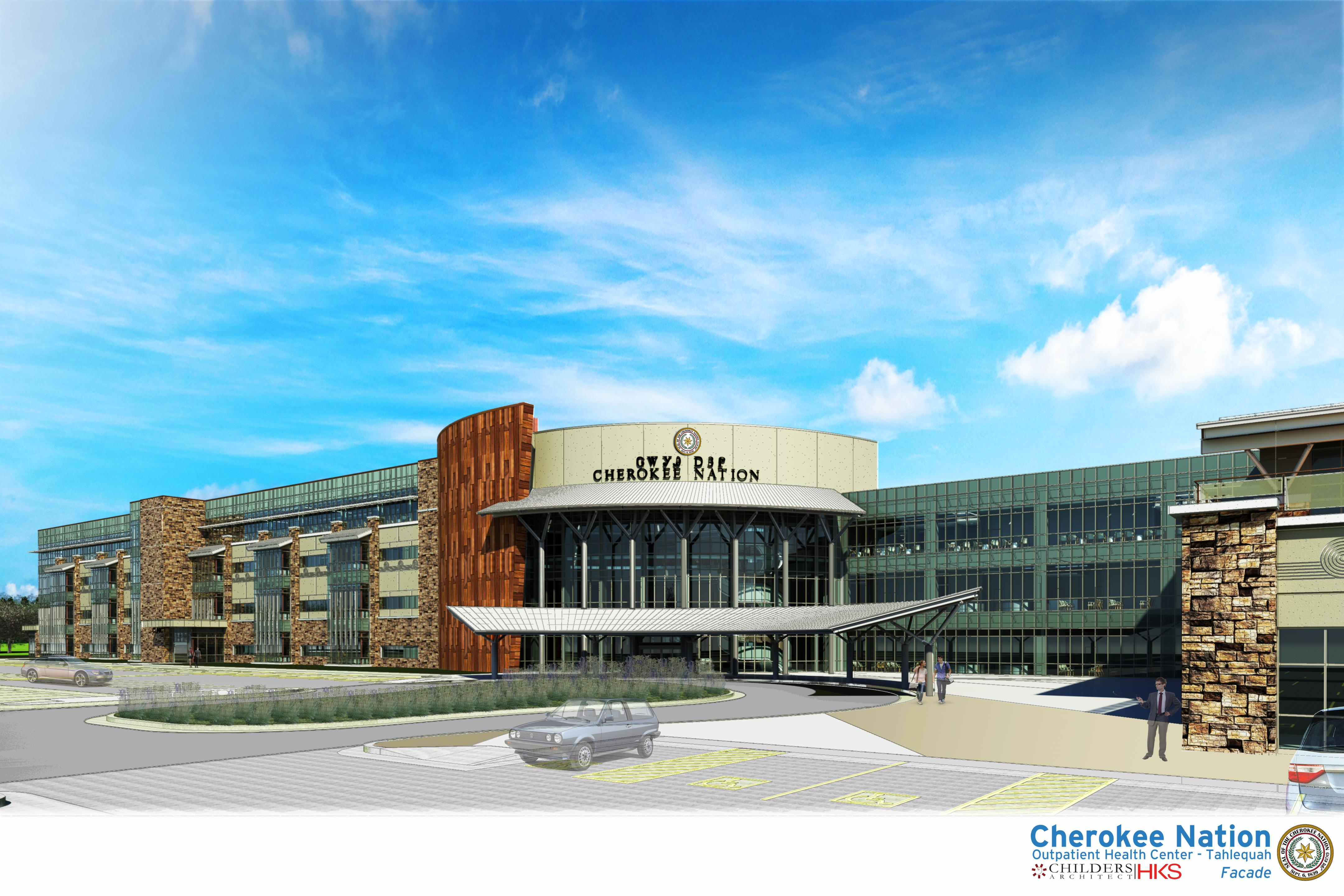 Cherokee Nation breaks ground on new 469,000-square-foot facility at W.W. Hastings campus
