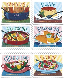 Postal Service Celebrating Latin American Cuisine Today with