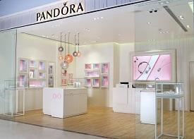 PANDORA concept store in