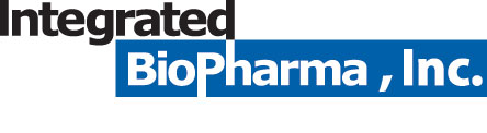 Integrated BioPharma, Inc. Logo