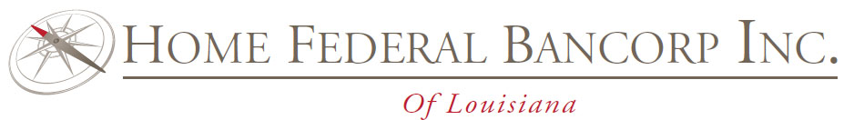 Home Federal Bancorp, Inc. of Louisiana Logo