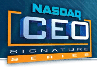 NASDAQ CEO Signature Series Logo