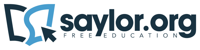 The Saylor Foundation logo