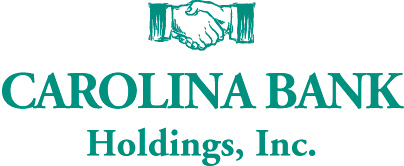 Carolina Bank Holdings, Inc. Logo