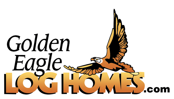 Golden Eagle Log Homes Logo
