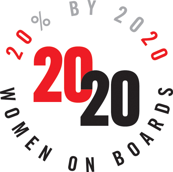 2020 Women on Boards Logo
