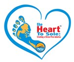 The Heart To Sole: Creating a Stress-Free America Logo
